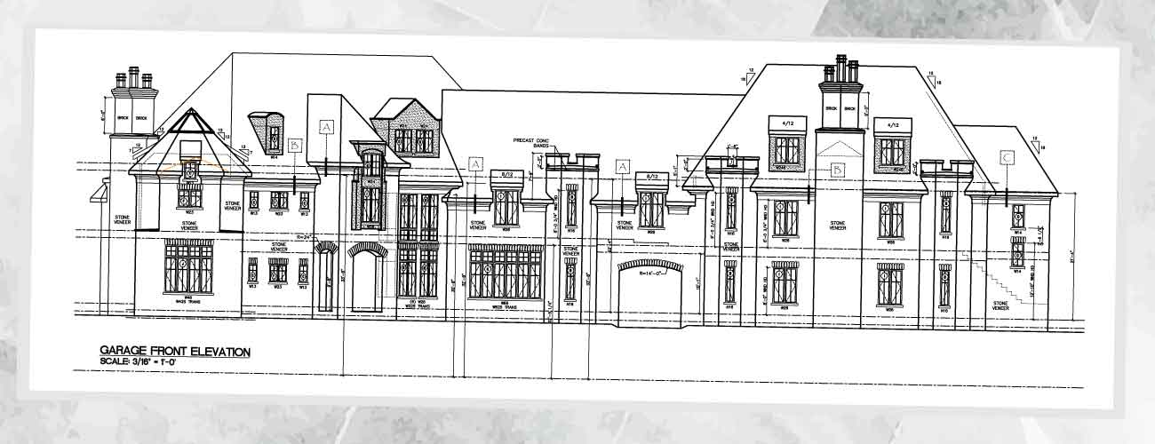 Home Plan Main Back Elevation Spinieo Estate Homes